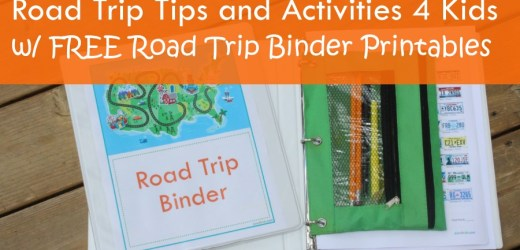 Road Trip Tips and Activities 4 Kids