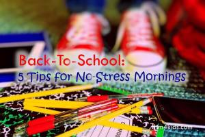 Back-To-School: 5 Tips for No-Stress Mornings - dsm4kids.com