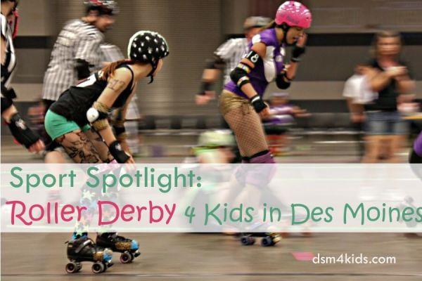 Sport Spotlight: Roller Derby 4 Kids in Des Moines - dsm4kids.com