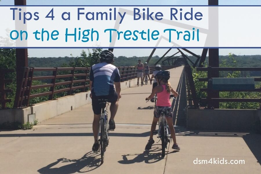 Tips 4 a Family Bike Ride on the High Trestle Trail