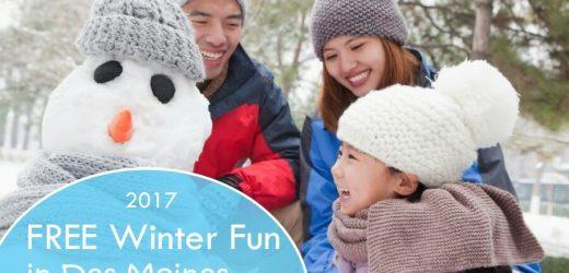 2017 FREE Winter Fun in Des Moines