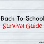 Back-To-School Survival Guide - dsm4kids.com