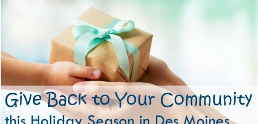 Give Back to Your Community this Holiday Season in Des Moines