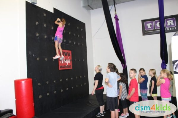 Ninja Warrior Birthday Parties At TGR Fitness In Des Moines