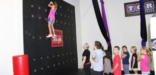 Ninja Warrior Birthday Parties at TGR Fitness in Des Moines