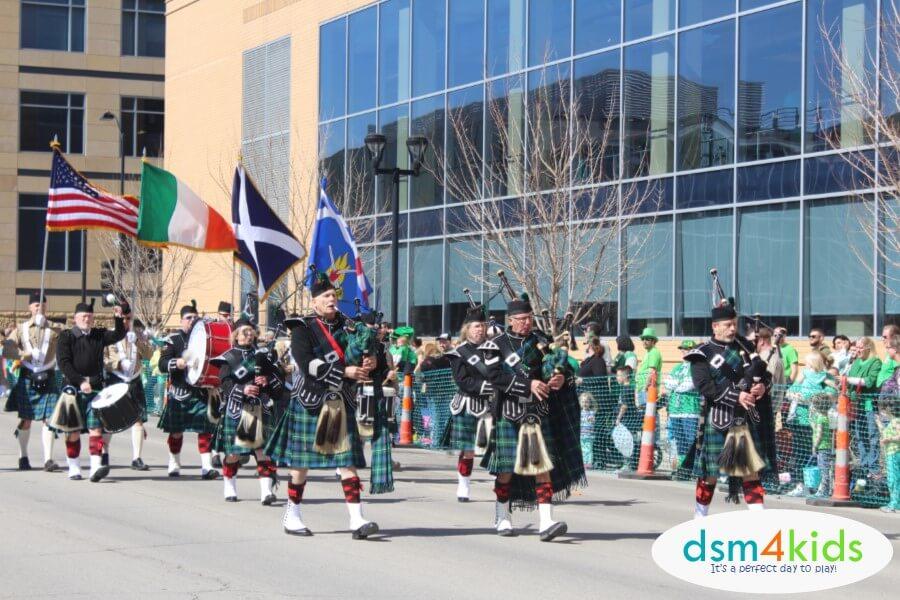 2018 St. Patrick's Day Parade & Events 4 Des Moines Families