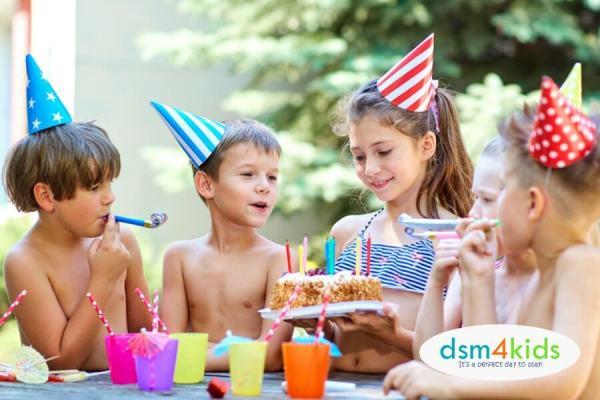5 Summer Birthday Party Spots 4 Des Moines Kids - dsm4kids.com