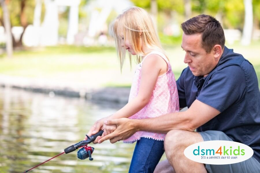2019:  Kid-Friendly FREE Fishing Days Events in Des Moines