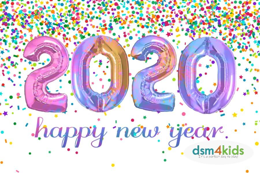 Ring in 2020 at a Family Friendly New Year's Eve Celebration in Des Moines!