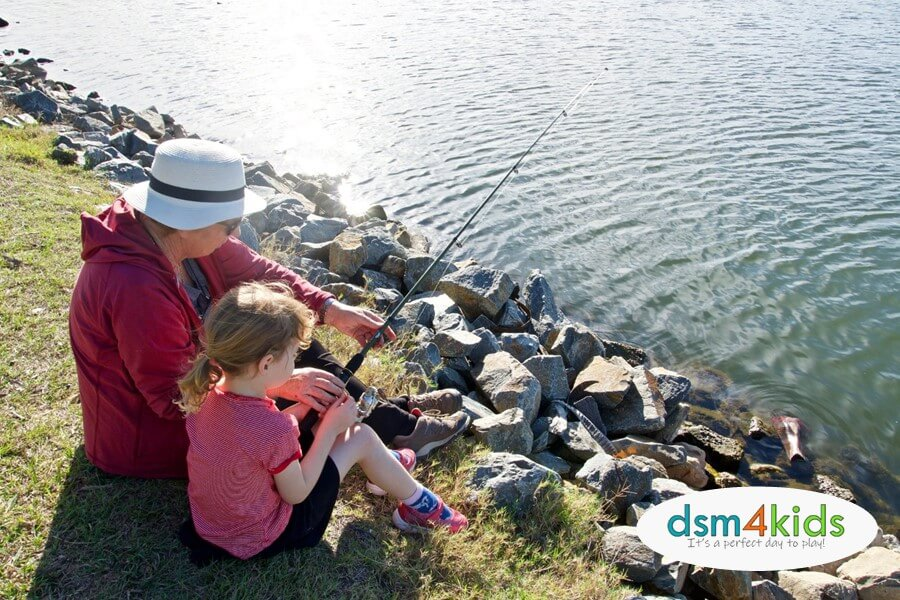 Free Fishing Weekend 2020 Where You Can Go Fishing With Des Moines Kids Dsm4kids