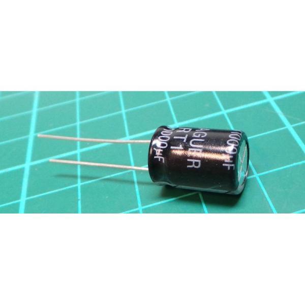 Capacitor 1000uf 16v Electrolytic 105 10x15x5mm - Dsmcz