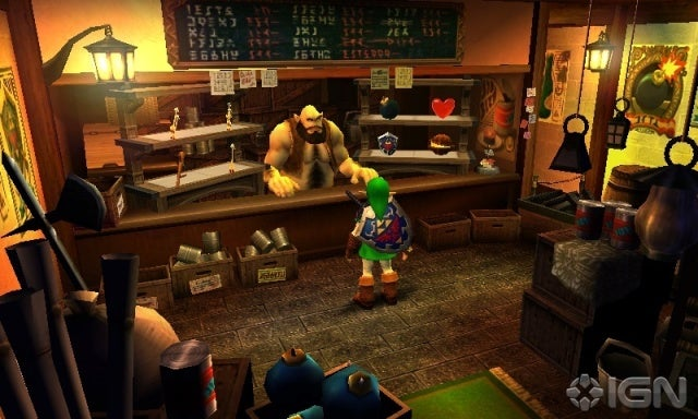 The Legend of Zelda: Ocarina of Time 3DS Picture