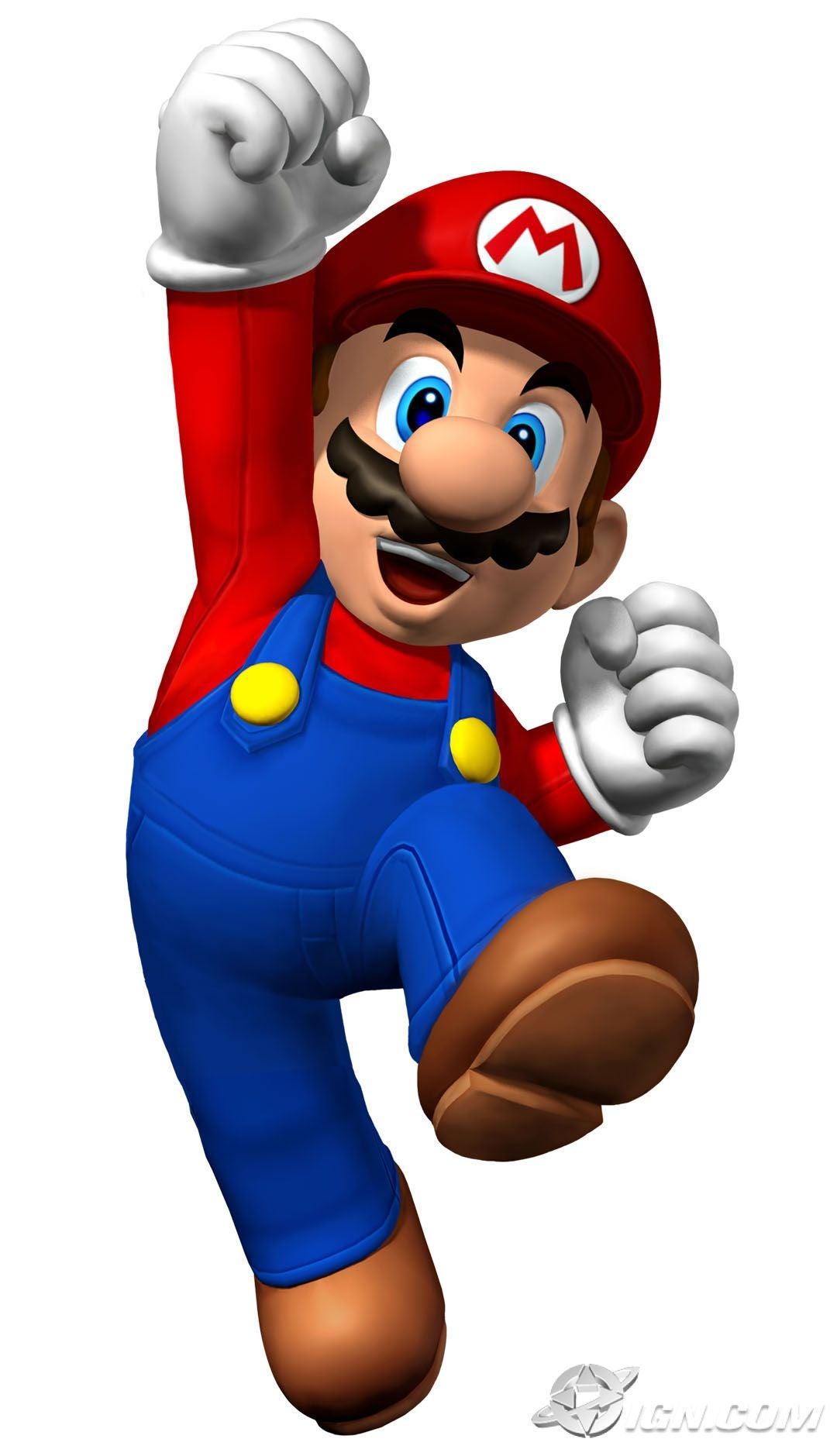 Não, não é o Super Mario!