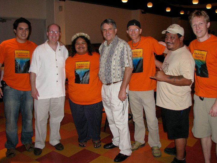 Featured Images: Friends of the Mariana Trench during the 2008 campaign to obtain Marine National Monument status