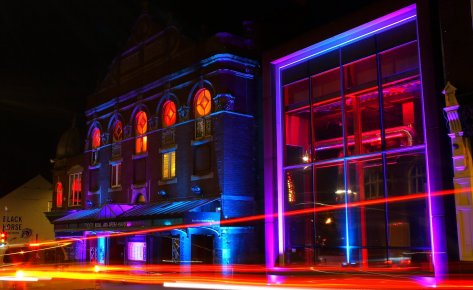 #LightUpWakefield – Theatre Royal Wakefield 2020
