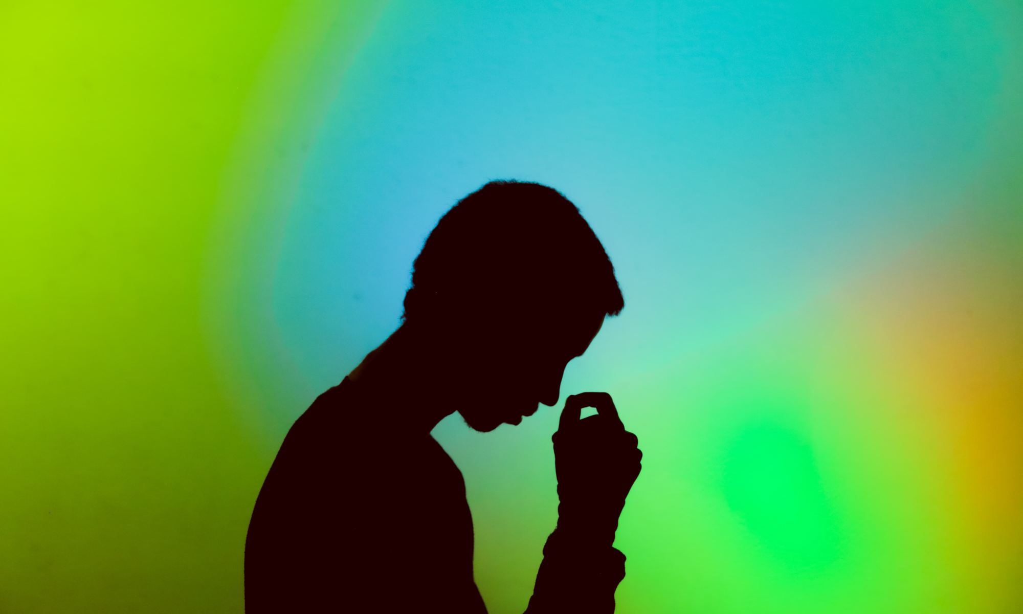 Silhouette photography of man experiencing an emotional void