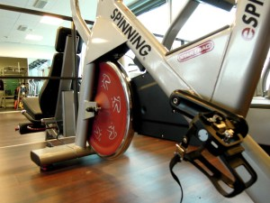 Exercise and mental health spinning bike