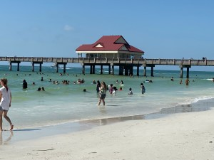 Tampa vacation - Clearwater beach boardwalk