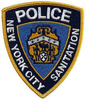 NYC Sanitation Police Patch