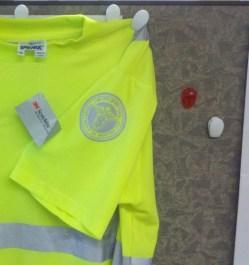 ANSI Tshirt with left sleeve emblem