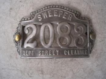 Sweeper Badge