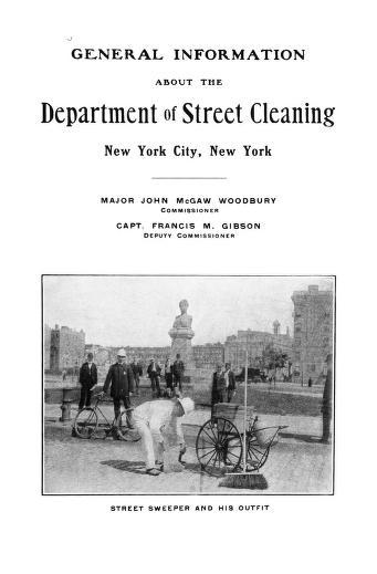 General Information 1895 - 1905