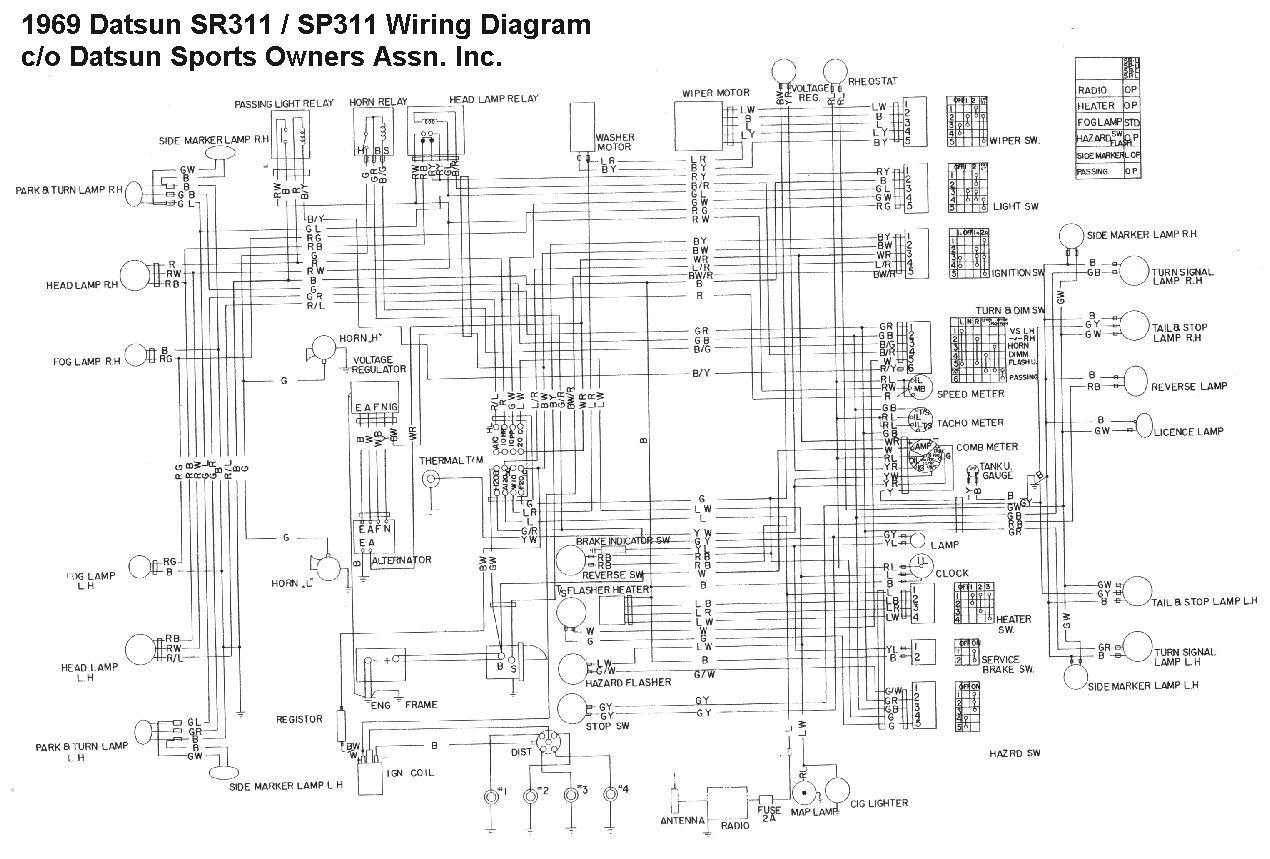 nissan 1400 alternator wiring diagram 2001 ford f150 headlight champ