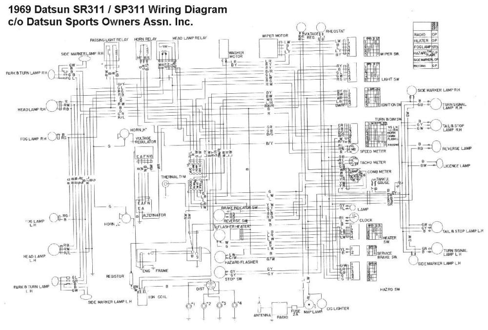 medium resolution of nissan 1400 wiring diagram