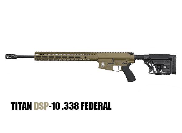 Titan DSP-10 .338 FEDERAL