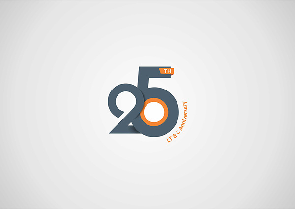 best logo design 25th