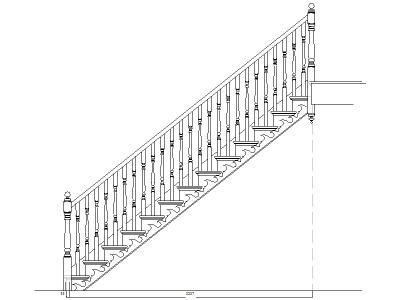Best Drawing Illustration Cad Standard Staircase images on