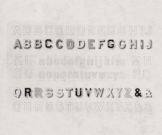 Best 19th Century Sizes Font Flickr images on Designspiration