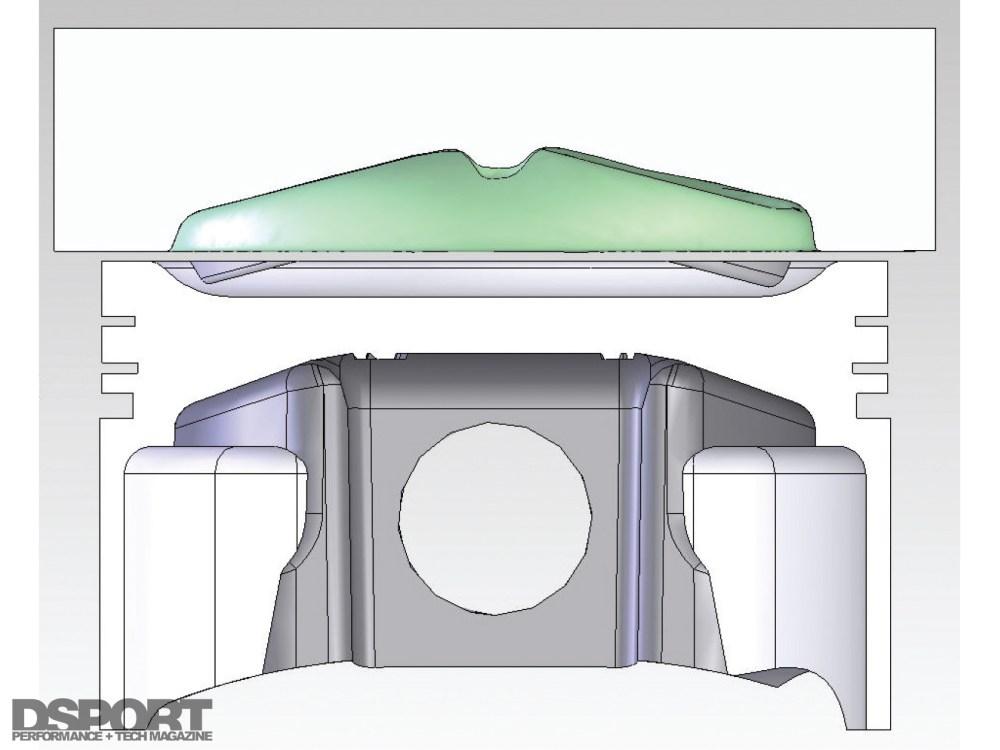 medium resolution of digitized sr20 head