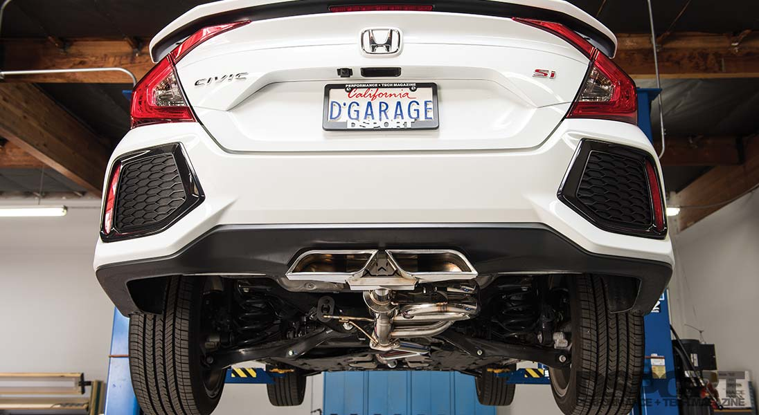 27won exhaust 2019 civic si exhaust