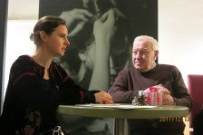 Meeting with Oksana Lyniv (the first woman to be the chief conductor of the opera and the philharmonic orchestra of the city of Graz)