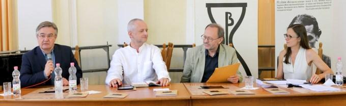 Зліва направо: Станіслав Росєк, Павел Прухняк, Петро Рихло, Карен Ундерхіль