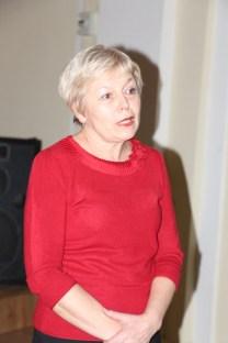 Професор Ірина Бермес вітає випускників-магістрів