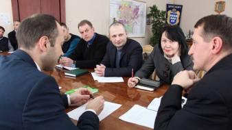 Обговорення комісією спільних проектів та їх реалізації у м. Дрогобич