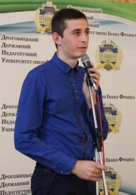 Вітальне слово студентського ректора Віталія Дитяткіна