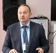 Професор Віталій Тельвак (Дрогобич) відкриває конференцію