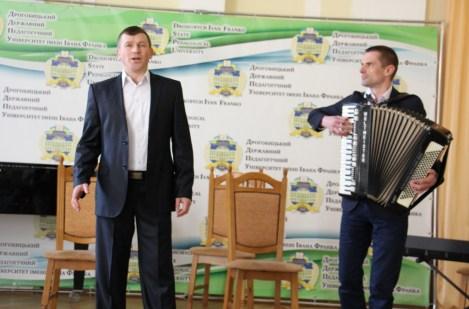 Співає Андрій Боженський, концертмейстер Валерій Шафета