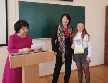 Нагородження С. Неделяєвої дипломом ІІІ ступеня