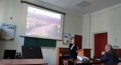 Доповідає доцент Вікторія Полюга