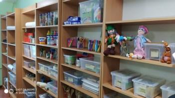 Обладнання кабінету арт-педагогіки та арт-терапії
