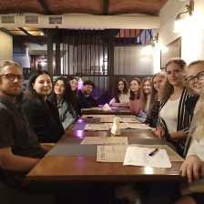 Дружній діалог студентів-полоністів з Дрогобича та Німеччини