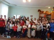 Студенти ДДПУ з учасниками фестивалю