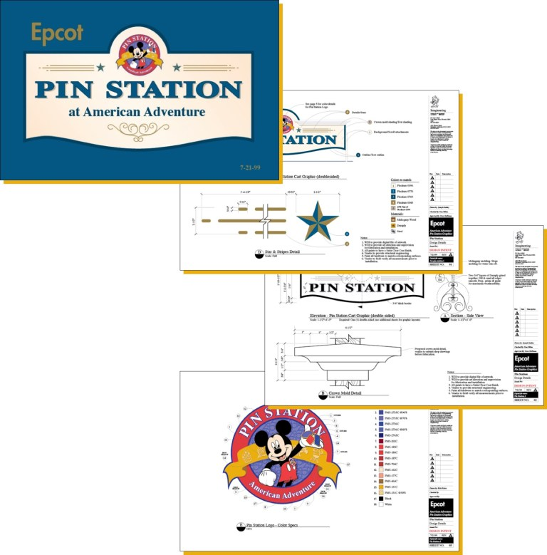 portfolio - disney pin station