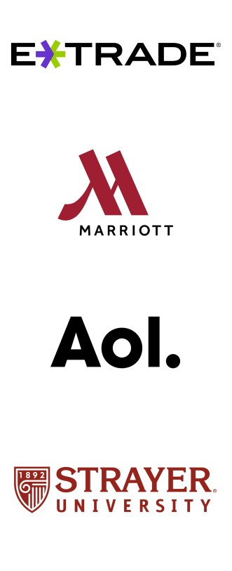 logo - etrade marriott aol strayer