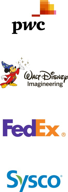 logo - pwc disney fedex sysco
