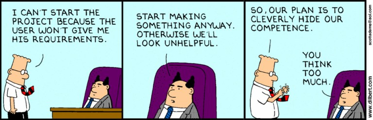 img - dilbert agile confusion
